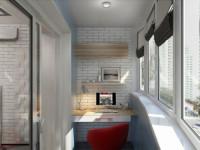 Балкон 4 кв. м. — варианты отделки и остекления. ТОП-100 фото новинок дизайна и красивого сочетания
