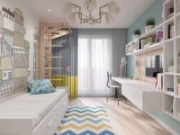 Детская 10 кв. м.: как сделать удобной и уютной небольшую детскую комнату