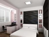 Дизайн совмещенной спальни: 125 фото идей оформления, зонирования и выбора дизайна интерьера