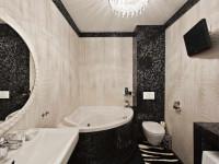 Дизайн угловой ванной: плюсы и минусы интересных идей планировки и перепланировки интерьера (95 фото)