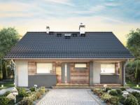 Дома до 100 кв. м. — обзор лучших проектов частного дома: из бетона, кирпича, дерева, камня. Схемы и чертежи с описанием