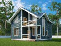 Дома до 150 кв. м. — обзор готовых проектов, идеи для планировки и зонирования (140 фото новинок)