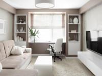 Гостиная 16 кв. м.: обзор лучших проектов и вариантов зонирования гостиной стандартных размеров