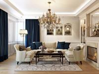Гостиная в классическом стиле — 115 фото лучших проектов и идей по выбору актуальных вариантов дизайна