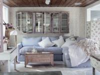 Гостиная Прованс — идеи как сделать интерьер в стиле Прованс современно и красиво (110 фото)
