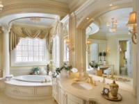 Классические ванные: фото красивого дизайна, варианты сочетания, выбор цвета, правила расстановки мебели