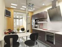 Кухня 8 кв. м. — новинки современных идей и особенности дизайна для кухни небольших размеров (125 фото)