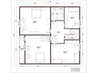 Планировка дома 12 на 12: схемы готовых дизайн-проектов с фото и описанием всех этапов
