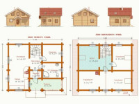 Планировка дома с мансардой: лучшие дизайнерские проекты, много фото, современный дизайн, (140 фото)