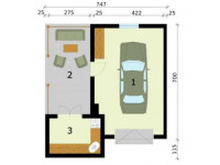 Планировка гаража: отличные идеи по обустройству, варианты отделки, практичное и функциональное зонирование (90 фото)