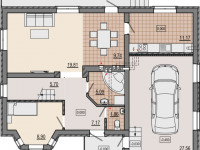 Планировка коттеджа: обзор популярных дизайн-проектов, схемы, размеры, новинки оформления и сочетания интерьера (85 фото)