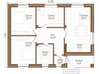Планировка одноэтажного дома: ТОП-100 фото оригинальных идей и современного дизайна