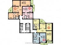 Планировка квартиры п44: обзор готовых решений, примеры красивого дизайна, зонирование, обустройство