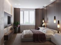 Прямоугольная спальня — особенности размещения элементов интерьера и параметры дизайна современной спальни