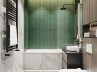 Ванная 4 кв. м. — идеи планировки для маленькой ванной комнаты, фото новинок дизайна ванной в квартире или в частном доме