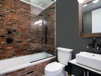 Ванная в стиле лофт — примеры отделки и варианты применения ярких сочетаний в интерьерах
