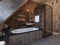 Ванные лофт: ТОП-100 фото новинок дизайна и оригинального оформления интерьера ванной комнаты