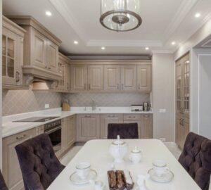 Кухня 16 кв. м.: советы по обустройству и рекомендации как выбрать мебель и элементы интерьера (120 фото)
