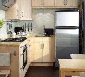 Кухня 5 кв. м.: 115 фото идей интерьера и обустройства малометражных кухонь