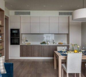 Квадратная кухня: планировки, особенности дизайна и варианты оформления