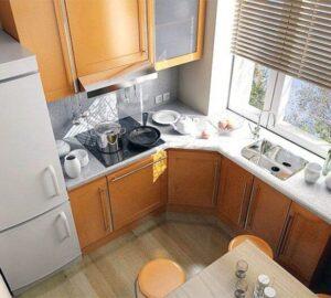 Планировка кухни в хрущевке (115 фото идей): практические советы зонирования и варианты дизайна типовой квартиры